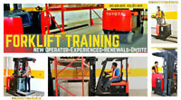 Forklift Training up 20% off - New / Experienced / Renewals