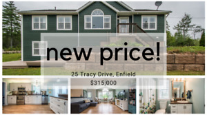 New Price! Only $315,000 for almost 2 acres and an in-law suite!