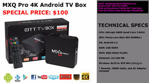 NEW 2016 Android TV Box /w KODI 16.1 Pre-installed *BRAND NEW*