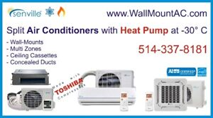 ™ Split Air Conditioner with Thermo Pump at -30°C SEER 20-25