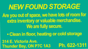 SECURE, HEATED STORAGE