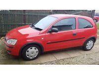 Vauxhall Corsa 1.2 twin sport.