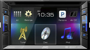 "JVC 6.2"" Touchscreen Double DIN In Dash DVD Receiver"