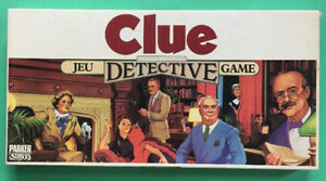 Parkers Brothers Clue Board Game 1986 Edition