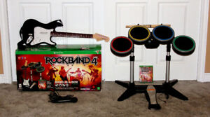 For sale Rock Band 4 Band in a Box (Xbox One)