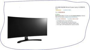 """LG 34"""" CURVED MONITOR"""
