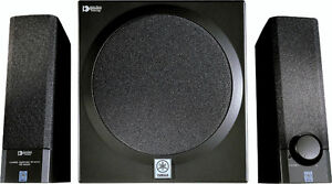 yamaha yst-ms201 speakers et subwoofer avec ampli integré