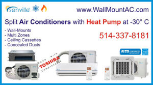 ™ Wall-Mount A/C Heat Pump (-30°C) SEER 20-25