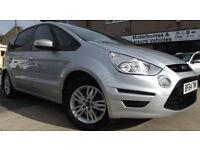 2014 64 Ford S-Max Zetec 2.0 TDCI 7 Seater MPV People Carrier Turbo Diesel