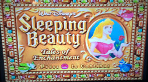 Disney sleeping beauty TV game
