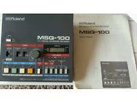 ROLAND MSQ-100 DIGITAL RECORDER WITH ORIGINAL USER MANUAL