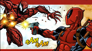 Deadpool,Carnage,Venom,X-Force Creators all at Orillia Comic-Con London Ontario image 9