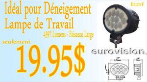 AUBAINE - LAMPE DE TRAVAIL OVAL LED 12V-24V Large 4597Lm (e121f)
