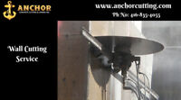 Wall Sawing    Cutting Services Brampton - anchorcutting.CA