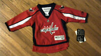 Licensed NHL Washington Capitals Jersey for Toddler[new]