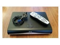 SKY + HD BOX NEARLY LIKE NEW WITH HDMI CABLE , REMOTE CONTROL,POWER CABLE, FOR SALE