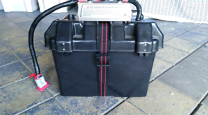 Portable battery pack with duel DCDC Charger