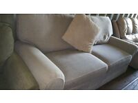 New marks and spencer seconds sofa in grey