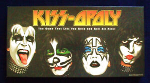 KISS OPOLY board game