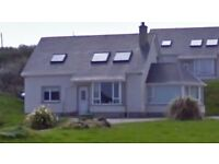 4 bedroom holiday home to rent in donegal