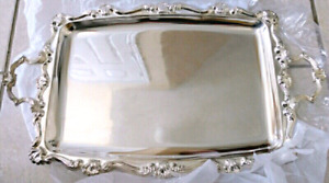 Silver Plated large serving tray