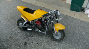 Japanese Pocketbike & Chopper Pocketbike with extras