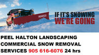 Commercial Property Snow Removal Landscaping Ice Management
