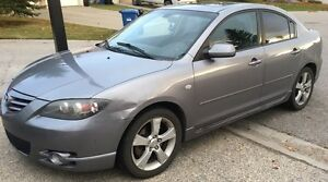 **2005 MAZDA 3 GT! LEATHER ! NEW-ISH CLUTCH! NEED GONE ASAP!!**