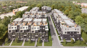 The Way Urban Townhomes in Erin Mills, Mississauga