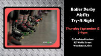 Roller Derby Try-It Night with the Misfits!