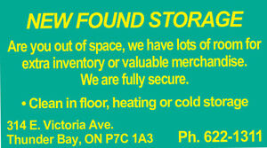 SECURE,HEATED AND COLD STORAGE FOR YOU!!