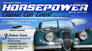 Swap Meet Cancelled - Join us for over 100 Classics at Auction!