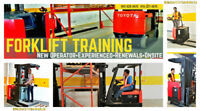 Forklift Training & Certification (Licence) -  New or Renewal