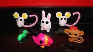 Lalaloopsy Pets. Lot of 6. Monkey, Parrot, Worm, Mouse, etc.