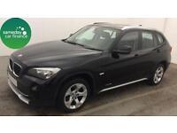 £198.98 PER MONTH BLACK 2011 BMW X1 2.0 S DRIVE SE ESTATE DIESEL MANUAL
