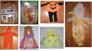 Kids Halloween Costumes/Dress-Up (Sizes 0-12 Months)