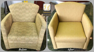 *** Reupholstery Services ***