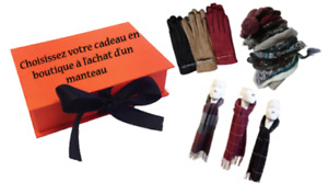 FREE ACCESSORY WITH THE PURCHASE OF A COAT! pajar rudsak sicily