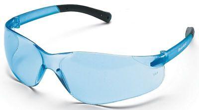 Crews Bearkat Safety Glasses with Light Blue Lenses