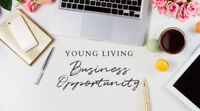 Work from home ~ Young Living Essential Oils