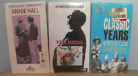 3 new VHS tapes