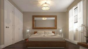 2 Bedroom - Top Floor - Condo Style - Close to Train