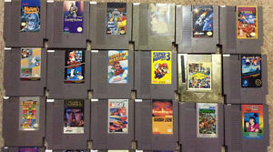 Nintendo NES and SNES Games!! Over 60 Games!