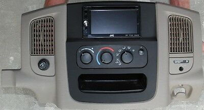 Aftermarket Double Din / Navigation Dash Kit Fits 2002 2003 2004 2005 Dodge