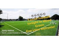 Casual football in Wood Green - looking for new players