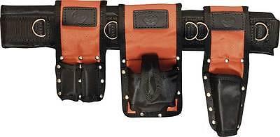 Ballistic Nylon Scaffold Work Tool Belt Set - Uk Made - Connell Of Sheffield