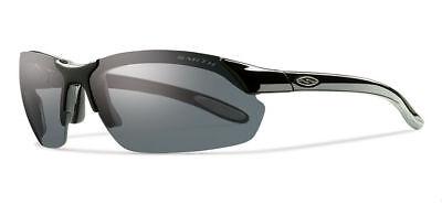 Smith Optics Parallel Max Sunglasses, Matte Black Frame, Green Sol-X Carbonic (Sol Optics)