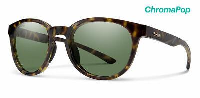 Smith Eastbank Sunglasses Vintage Tort Frame ChromaPop Polarized Gray Green (Tort Sunglasses)