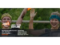 2x Tough Mudder Scotland Tickets (Sat 16th June) Full Participant Entry - Can sell separately