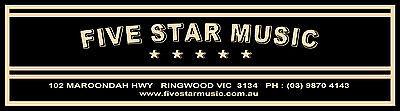 FiveStarMusicOz